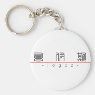 Chinese name for Joyce 20666_0.pdf Basic Round Button Keychain
