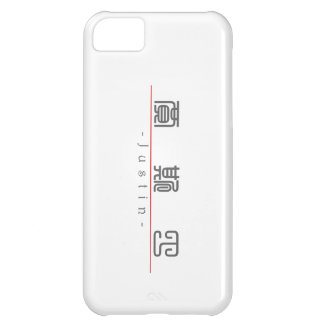 Chinese name for Justin 20669_0.pdf iPhone 5C Cases