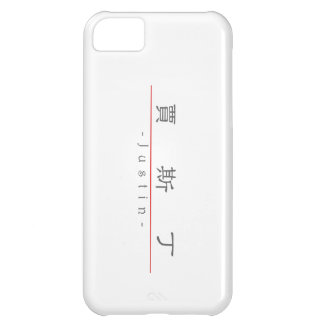 Chinese name for Justin 20669_2.pdf iPhone 5C Case