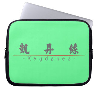 Chinese name for Kaydence 21261_4.pdf Computer Sleeves