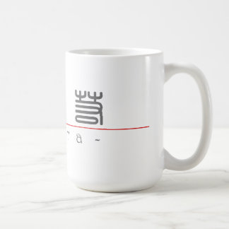 Chinese name for Keira 21175_0.pdf Classic White Coffee Mug