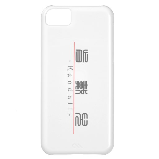 Chinese name for Kendall 21122_0.pdf iPhone 5C Cover