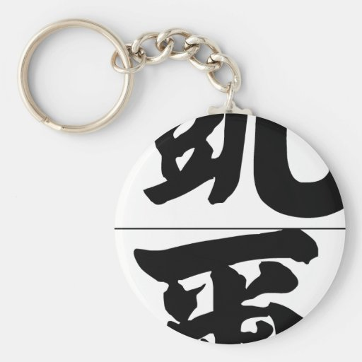 Chinese name for Kyle 20682_4.pdf Basic Round Button Keychain