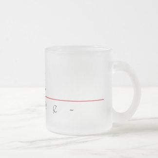 Chinese name for Lane 22269_2.pdf Frosted Glass Coffee Mug