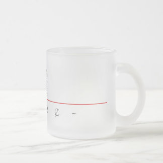 Chinese name for Lane 22269_3.pdf Frosted Glass Coffee Mug