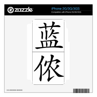 Chinese name for Lennon 20689_1.pdf iPhone 3GS Decal