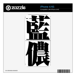 Chinese name for Lennon 20689_3.pdf iPhone 4S Skin