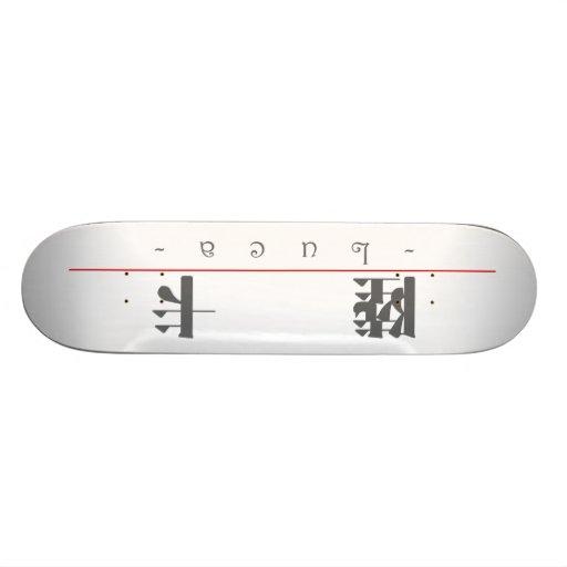 Chinese name for Luca 22259_3.pdf Skateboard Decks
