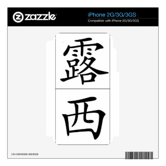 Chinese name for Lucy 20215_1.pdf Decal For The iPhone 2G