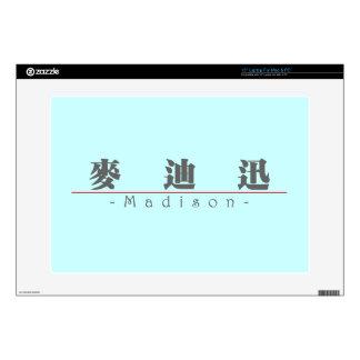 """Chinese name for Madison 21007_3.pdf 15"""" Laptop Skin"""
