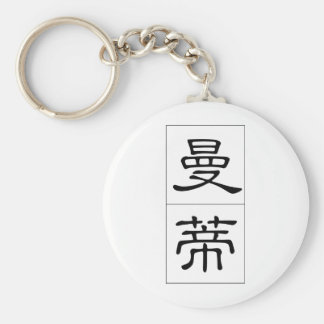 Chinese name for Mandy 20223_2.pdf Keychain
