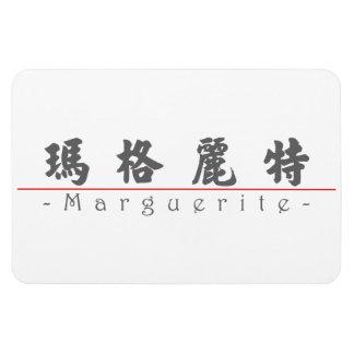 Chinese name for Marguerite 20226_4.pdf Rectangular Photo Magnet