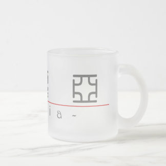 Chinese name for Maria 20227_0.pdf Frosted Glass Coffee Mug