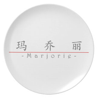 Chinese name for Marjorie 20230_1.pdf Party Plates