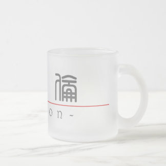 Chinese name for Marlon 20711_0.pdf 10 Oz Frosted Glass Coffee Mug