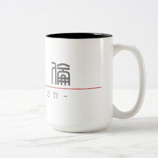 Chinese name for Marlon 20711_0.pdf Two-Tone Coffee Mug