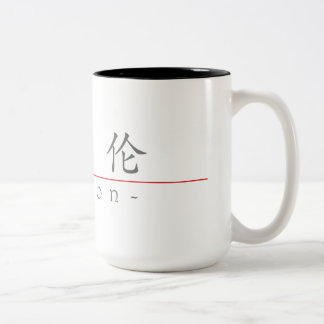 Chinese name for Marlon 20711_1.pdf Two-Tone Coffee Mug