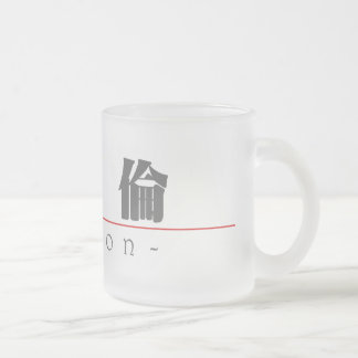 Chinese name for Marlon 20711_3.pdf 10 Oz Frosted Glass Coffee Mug