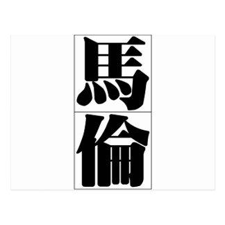 Chinese name for Marlon 20711_3.pdf Postcard