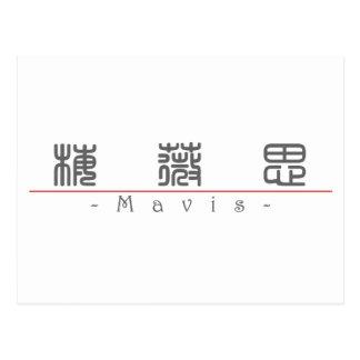 Chinese name for Mavis 20236_0 pdf Postcards