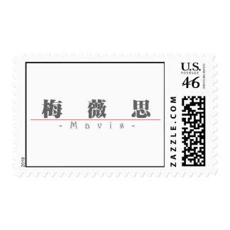 Chinese name for Mavis 20236_3 pdf Stamp