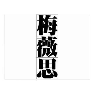 Chinese name for Mavis 20236_3 pdf Postcards