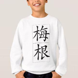 Chinese name for Megan 20240_1.pdf Sweatshirt