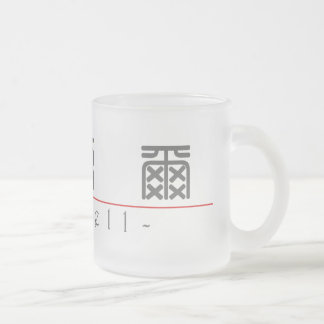 Chinese name for Michell 20726_0.pdf 10 Oz Frosted Glass Coffee Mug