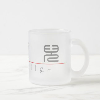 Chinese name for Michelle 20245_0.pdf 10 Oz Frosted Glass Coffee Mug