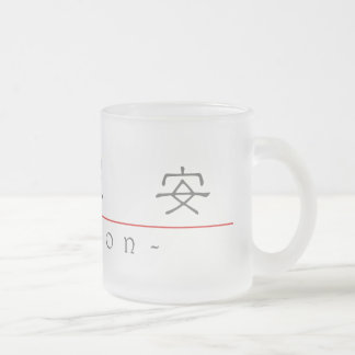 Chinese name for Mignon 20247_2.pdf Frosted Glass Coffee Mug
