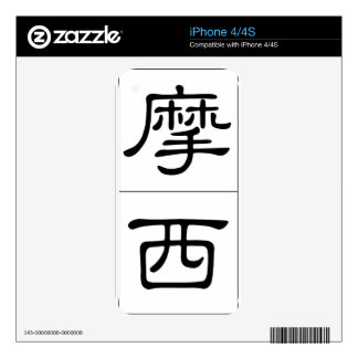 Chinese name for Moses 20737_2 pdf iPhone 4S Decal