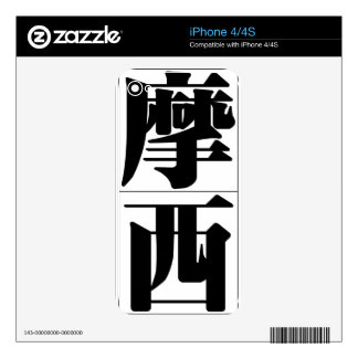 Chinese name for Moses 20737_3 pdf Skins For iPhone 4S