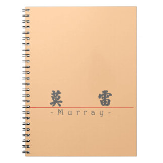Chinese name for Murray 20739_4.pdf Spiral Notebooks