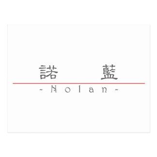 Chinese name for Nolan 22092_2.pdf Postcard