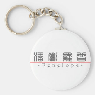 Chinese name for Penelope 20287_0.pdf Keychain
