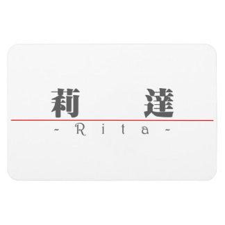 Chinese name for Rita 20306_3.pdf Rectangular Photo Magnet
