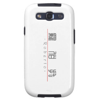 Chinese name for Roberto 22294_0.pdf Samsung Galaxy S3 Case