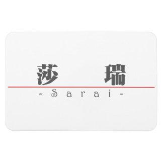 Chinese name for Sarai 21442_3.pdf Rectangular Magnet