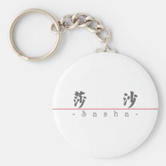 Chinese name for Sasha 21373_4.pdf Key Chain