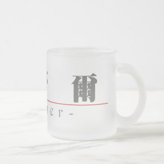 Chinese name for Sawyer 22171_3.pdf Frosted Glass Coffee Mug