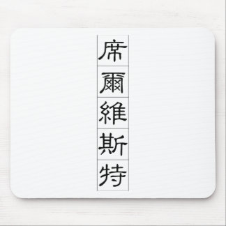 Chinese name for Silvester 20817_2.pdf Mouse Pad