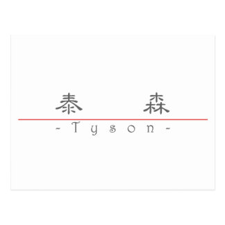 Chinese name for Tyson 22250_2.pdf Postcard