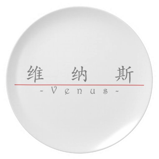 Chinese name for Venus 20361_1.pdf Party Plates