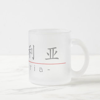 Chinese name for Victoria 20366_1.pdf Frosted Glass Coffee Mug