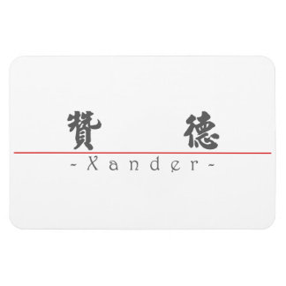 Chinese name for Xander 22204_4.pdf Rectangle Magnet