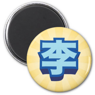 "Chinese Name Lee ""Block"" Magnet"