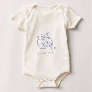 Chinese New Year -  2011 - Year of the Rabbit Baby Bodysuit
