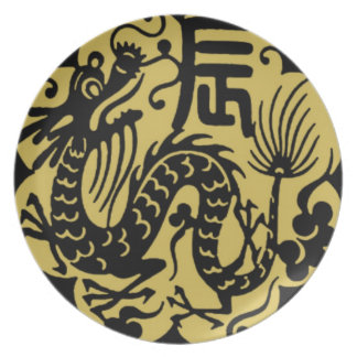 Chinese New Year 2012 Dinner Plate