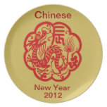 Chinese New Year 2012 Plates