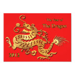 Chinese New Year 2012 Year of the Dragon Custom Announcement